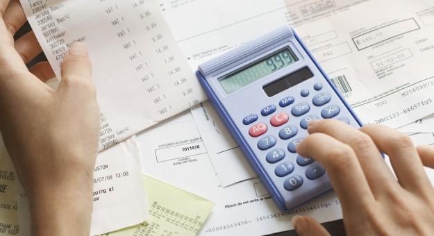 controle das finanças
